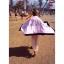ผ้าเช็ดตัว Victoria's Secret Blankets Premium Gift สีชมพูขอบดำ thumbnail 7
