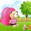 กระเป๋าเป้จูงเด็กรูปตุ๊กตาหมี ป้องกันเด็กพลัดหลงหาย thumbnail 3