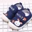 รองเท้าคัชชูเด็กเล็ก สีน้ำเงินลายกระต่าย (เท้ายาว 10-13 ซม.) thumbnail 4