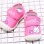 รองเท้าคัชชูเด็กเล็กหญิง สีชมพูลายกระต่าย (เท้ายาว 10-13 ซม.) thumbnail 6