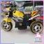 รถมอเตอร์ไซส์ดูคาติ 3 ล้อ 2 มอร์เตอร์ สีเหลือง thumbnail 4