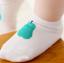 SK018••ถุงเท้าเด็ก•• ลูกแพร์ (สีเขียว-ข้อสั้น) thumbnail 5