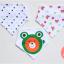 ผ้าซับน้ำลายสามเหลี่ยม ผ้ากันเปื้อนเด็ก / เซตหมีเคโระ (3 ผืน/เซต) thumbnail 1