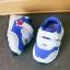 รองเท้าคัชชูเด็กเล็ก สีฟ้าเทาดาวแดง Sport ผ้าตาข่ายฟองน้ำนิ่ม (เท้ายาว 10-12.5 ซม.) thumbnail 3