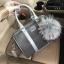 KEEP Grey two tone leather Pillow bag หนังชนิดพิเศษ thumbnail 3