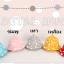 HT461••หมวกเด็ก•• / หมวกปีกกว้าง-bubbles (สีชมพูอ่อน) thumbnail 4