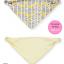ผ้าซับน้ำลายสามเหลี่ยม ผ้ากันเปื้อนเด็ก [ผืนใหญ่] / กระต่ายซ่อนแอบ thumbnail 1