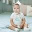 SK006••ถุงเท้าเด็ก•• I'm your Baby (สีขาว) thumbnail 3
