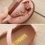 รองเท้าคัทชูเด็กหญิงหนัง PU ฉลุดอกไม้สีชมพูสวยหวาน Size 26-35 thumbnail 4
