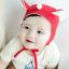 HT170••หมวกเด็ก•• / หมวกนักบิน (สีแดง) thumbnail 1