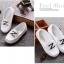 รองเท้าคัทชูเด็กหนัง PU สีขาว ประดับโลหะตัวอักษร Z มี Size 21-36 thumbnail 2