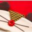 เซตหมวก+ผ้าซับน้ำลาย / ลายหนู (มี 4 สี) thumbnail 17