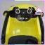 รถโฟล์คเต่า หอยทาก 2 มอเตอร์ สีเหลือง thumbnail 2