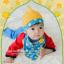 AP181••เซตหมวก+ผ้ากันเปื้อน•• / ดาว [สีเหลือง-ฟ้า] thumbnail 1