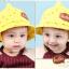 หมวกเด็กปีกกว้าง หมวกเด็กปีกรอบ หมวกซันเดย์ ลาย Hello (มี 5 สี) thumbnail 13