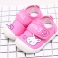 รองเท้าคัชชูเด็กเล็กหญิง สีชมพูลายกระต่าย (เท้ายาว 10-13 ซม.) thumbnail 2