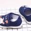 รองเท้าคัชชูเด็กเล็ก สีน้ำเงินลายกระต่าย (เท้ายาว 10-13 ซม.) thumbnail 8