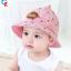 หมวกเด็กปีกกว้าง หมวกเด็กปีกรอบ หมวกซันเดย์ ลาย Hello (มี 5 สี) thumbnail 14