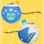AP106••เซตหมวก+ผ้ากันเปื้อน•• / [สีฟ้า] น้องหมี thumbnail 8