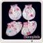 ถุงมือถุงเท้า cotton 100% (แพ็ค 6 เซ็ต) thumbnail 3