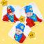 AP106••เซตหมวก+ผ้ากันเปื้อน•• / [สีฟ้า] น้องหมี thumbnail 2