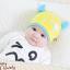 HT400••หมวกเด็ก•• / หมวกบีนนี่-เลขคู่ (สีเหลือง) thumbnail 2