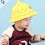 หมวกเด็กปีกกว้าง หมวกเด็กปีกรอบ หมวกซันเดย์ ลาย Hello (มี 5 สี) thumbnail 12