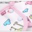 ผ้าซับน้ำลายเด็ก ผ้ากันเปื้อนเด็กเล็ก แบบ 360 องศา ปลายหยักโค้ง - ยี่ห้อ Mom's care / ลาย Blue Puppy thumbnail 4