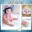 SK017••ถุงเท้าเด็ก•• ลูกแพร์ (สีชมพู-ข้อสั้น) thumbnail 1