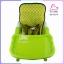 เก้าอี้ทานข้าวทรงสูง มีผ้ารองนั่ง 3 in 1 สีเขียว thumbnail 7