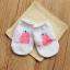 SK017••ถุงเท้าเด็ก•• ลูกแพร์ (สีชมพู-ข้อสั้น) thumbnail 6