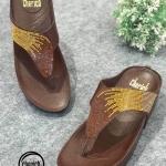 รองเท้าแตะแฟชั่น แบบหนีบ แต่งคลิสตัลสีไล่โทนสวยหรู พื้นซอฟคอมฟอตนิ่มเพื่อสุขภาพ สไตล์ฟิตฟลอบ ใส่สบาย แมทสวยได้ทุกชุด (A317-1)