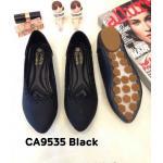 รองเท้าคัทชู ส้นแบน แต่งขอบสวยเก๋ ทรงสวย หนังนิ่ม ใส่สบาย แมทสวยได้ทุกชุด (CA9535)