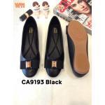 รองเท้าคัทชู ส้นแบน แต่งอะไหล่สวยหรู ทรงสวย หนังนิ่ม ใส่สบาย แมทสวยได้ทุกชุด (CA9193)