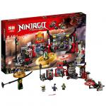 เลโก้จีน LEPIN.06075 ชุด Ninja Go S.O.G. Headquarters
