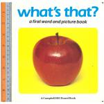 What that -Board Book