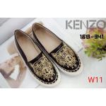 รองเท้าคัทชู ทรง slip on ปักหน้าเสือสไตล์เคนโซ่สวยเก๋ ทรงสวยเรียบเก๋ หนังนิ่ม ใส่สบาย แมทสวยได้ทุกชุด (168-341)