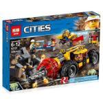 เลโก้จีน LEPIN.02101 ชุด Mining Heavy Driller
