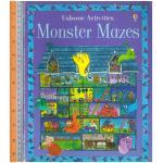 monster mazes -ปกอ่อน