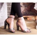 รองเท้าแฟชั่น ส้นสูง แบบสวม รัดข้อ ดีไซน์โชว์เท้าสวยอินเทรนด์ ส้นสูงประมาณ 4 นิ้ว หนังนิ่ม ใส่สบาย แมทสวยได้ทุกชุด
