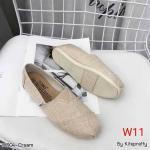 รองเท้าผ้าใบแฟชั่น ทรง slip on สไตล์ TOMs สวยเก๋ ทรงสวย ใส่สบาย แมทสวยได้ทุกชุด (M004)