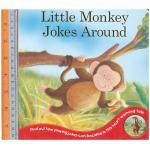 monkey jokes around -Board Book