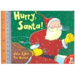 hurry santa -Board Book