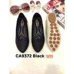 รองเท้าคัทชู ส้นแบน แต่งลายที่ขอบสวยน่ารัก หนังนิ่ม ใส่สบาย แมทสวยได้ทุกชุด (CA9372)