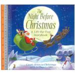 night before christmas -Board Book , Lift - the - Flaps