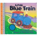 blue train -sound Board Book เปลี่ยนถ่านได้