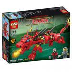 เลโก้จีน LEPIN.8921 ชุด Ninja Go Movie มังกรแดง
