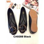 รองเท้าคัทชู ส้นแบน แต่งอะไหล่สวยเก๋ หนังนิ่ม ใส่สบาย ทรงสวย แมทสวยได้ทุกชุด (CA9288)