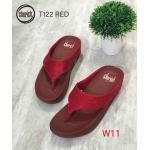 รองเท้าแตะแฟชั่น แบบหนีบ แต่งคลิสตัลสวยเก๋ พื้นซอฟคอมฟอตนิ่มสไตล์ฟิตฟลอบ ใส่สบาย แมทสวยได้ทุกชุด (T122)