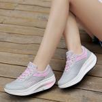 รองเท้าผ้าใบแฟชั่น แต่งลายสวยเก๋ ทรงสวย วัสดุอย่างดี เสริมส้น 2 นิ้ว ใส่สบาย ใส่เที่ยว ออกกำลังกาย แมทสวยเท่ห์ได้ทุกชุด